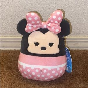"NWT 5"" Minnie Mouse Squishmallow"
